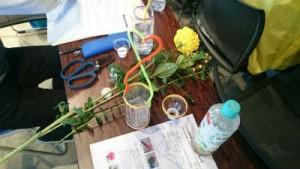 使用した材料と道具