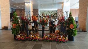花飾り裏面